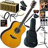 YAMAHA エレアコ 初心者 入門 ギターの生音にリバーブ、コーラスをかけられるトランスアコースティックギター レトロなデザインで多機能・高音質のYAMAHA THR5Aが入ってる大人の19点セット LL-TA/VT(ビンテージティント)