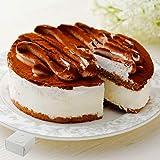 【工場直送】濃厚ティラミスケーキ 5号(14cm) 冷凍 ホールケーキ たべるン 誕生日 ハロウィン