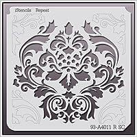 (11AcA A X 11AcA A) - iStencils Repeat Wall Stencil 93-A4011 R 28cm X 28cm