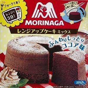 森永 レンジアップケーキミックス<ココア> 93g×6個