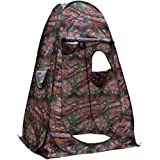 Single Hide Portable Privacy Shower Toilet Camping Pop Up Tent Army Green Camouflage Photography Tent