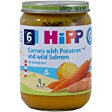 Hipp Organic Carrot W Potato and Wild Salmon, 190g