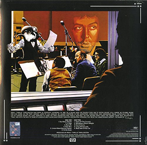 THRILLINGTON [LP] (180 GRAM, REISSUE, INSTRUMENTAL COVERS OF PAUL MCCARTNEY'S RAM ALBUM) [12 inch Analog]