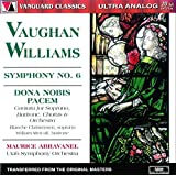Vaughan Williams Symphony No. 6 Dona Nobis Pacem