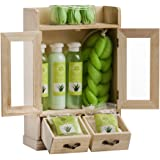 Brubaker Cosmetics 10 Pcs Beauty Gift Set Women Wooden Cabinet Aloe Vera Vanilla