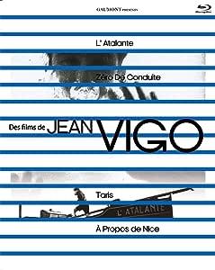 ジャン・ヴィゴ コンプリート・ブルーレイセット (『アタラント号』『新学期 操行ゼロ』『ニースについて』『競泳選手ジャン・タリス』) [Blu-ray]