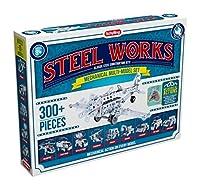 Schylling Steel Works Mechanical Multi-Model Construction Building Kit [並行輸入品]