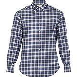 (ブルネロ クチネリ) Brunello Cucinelli メンズ トップス その他シャツ Checked single-cuff cotton-flannel shirt 並行輸入品