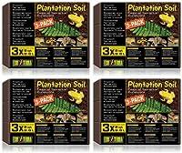 Exo Terra Plantation Soil, 8 qt. (4 x 3pk) by Exo Terra
