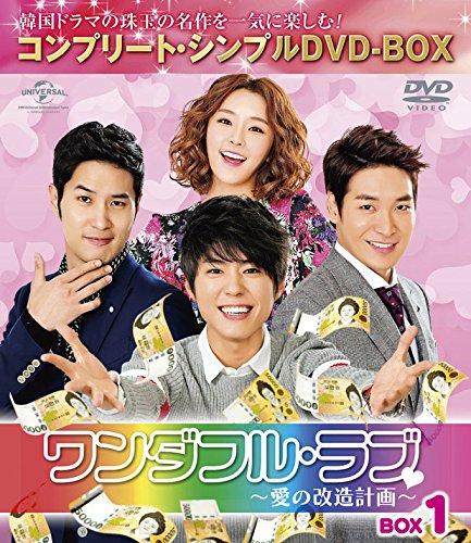 ワンダフル・ラブ~愛の改造計画~ BOX1 (コンプリート・シンプルDVD-BOX5,000円シリーズ)(期間限定生産) -