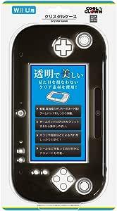 Wii Uゲームパッド用「クリスタルケース」(クリアブラック)