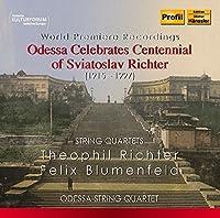 Odessa Celebrates Centennial of Sviatoslav Richter by Odessa String Quartet