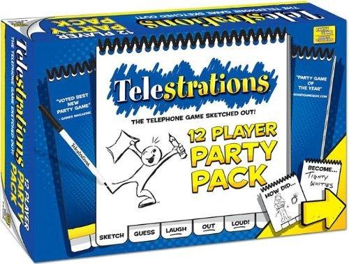 テレストレーション (Telestrations) 12 Player - Party Pack [直輸入品] ボードゲーム