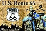 ルート66 Route 66 Map / ブリキ看板 TIN SIGN
