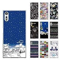 ScoLar スカラー デザイン Xperia XZ(XZs) SO-01J(03J)、SOV34(35)、601SO(602)機種専用スマホケース 50263 カバー ハードケース iPhone Xperia AQUOS Galaxy ARROWSカラフル ヒョウ柄 蝶たち かわいいデザイン ファッションブランド