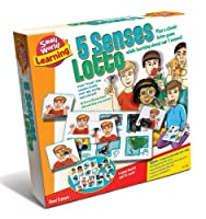 Small World Toys Learning - 5 Senses Lotto Matching Game [並行輸入品]