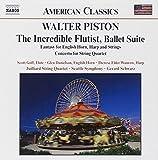 ピストン:不思議な笛吹き/コールアングレ,ハープと弦楽のための幻想曲