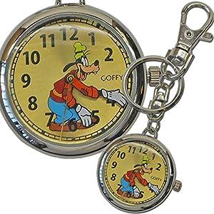[ディズニー]Disney 懐中時計 キーチェーン グーフィー MKN007-5 【並行輸入品】