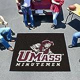 """Massachusetts Minutemen NCAA Tailgater """"フロアマット( 5' x6'"""""""