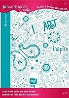 American Girl Crafts Doodle Design Sketchbook Art 【You&Me】 [並行輸入品]