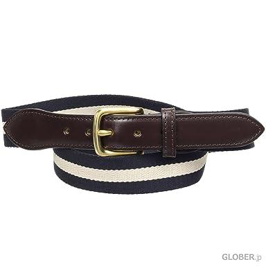 Webbing Belt B2323: Navy / Ivory