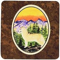 Carolines Treasures SS8285FC Siberian Husky Foam Coasters - Set Of 4