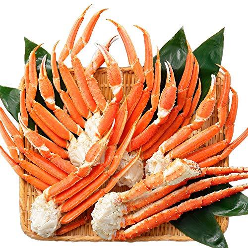 北国からの贈り物 タラバガニ 脚 ズワイガニ ボイル 食べ比べ 蟹 足 かに 訳あり 業務用 2kg たらば 500g ずわい 1.5kg