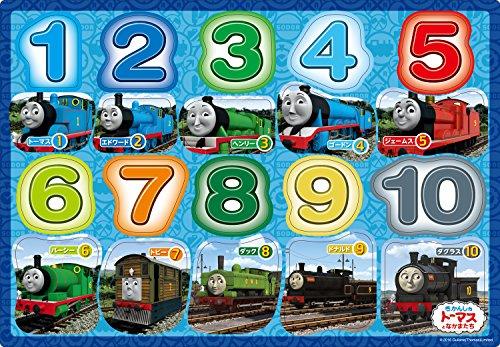 20ピース 子供向けパズル きかんしゃトーマス トーマスすうじ ピクチュアパズル