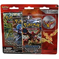 Pokemon Cards - Legendary Collector's Pin Set - MOLTRES (3 Packs & 1 Pin) [並行輸入品]
