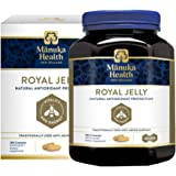 Manuka Health 10hda Royal Jelly 1000mg 180 & 365 Capsules 100% Pure Royal Jelly Immune System Booster & Supports Skin Health