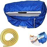 壁掛けエアコン防水クリーニングカバーダストクリーニング保護バッグ家庭用クリーニングダストカバー耐久性のあるオックスフォード布 (M)