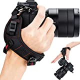 Mirrorless Camera Hand Strap Grip for Sony A6000 A6300 A6400 A6500 A5100 A5000 A7RIII A7III A7RII A7SII A7II A7R A7S A7 A9 RX