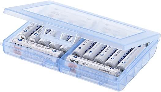 サンワサプライ 電池ケース(単3形、単4形対応) ブルー DG-BT5BL