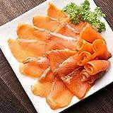 生食用スモークサーモン熟成スライス500g~添加物は食塩,砂糖のみ~(鮭)(しゃけ)(シャケ)(さーもん)