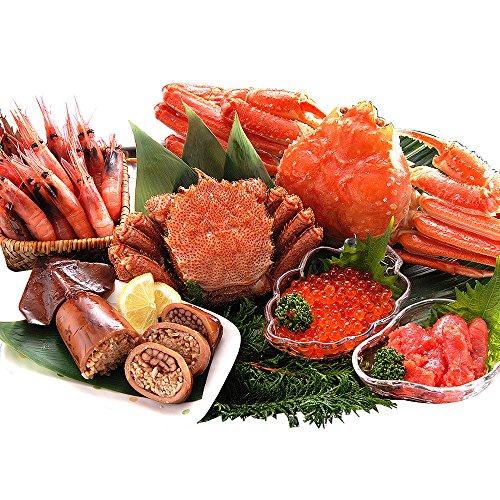 小樽きたいちセット(福袋 カニセット 海鮮セット 魚介セット 蟹 カニ 毛蟹) -