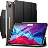 ESR Yippee Trifold Smart Case for iPad Pro 12.9 2020/2018, Lightweight Stand Case with Clasp, Auto Sleep/Wake [Supports Apple