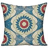 プーマ ランニング 和風 花柄 高品質 低反発 座布団 クッション 椅子用 かわいい オシャレ 寝具 中袋 中身:綿