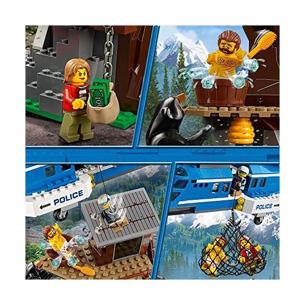 レゴ(LEGO) シティ 山の逮捕劇 60173の紹介画像2