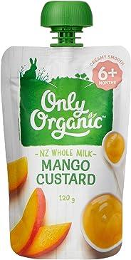 Only Organic Mango Custard 6+ Months - 120g