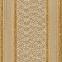 95702–Ornamentaストライプ銅グレーGalerie壁紙