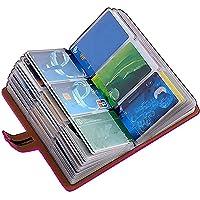 JERLA カードケース クレジットカードケース カードホルダー 大容量 薄型 磁気防止 スキミング防止【96枚収納】