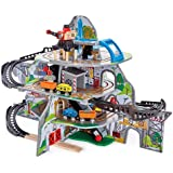 Hape E3753 Kids Wooden Railway Mighty Mountain Standard Packaging Multi-Colored, 32 Pieces