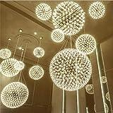 Ceiling Lighting, LED Chandeliers, LED Fireworks Spark Ball Ceiling Pendant Light,Restaurant/Bedroom/Living Room/Hanging Chan