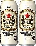 サッポロ ラガービール 6缶パック 500ml 48本 (2ケース)