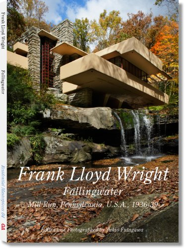 落水荘 Frank Lloyd Wright Fallingwater1934-37—世界現代住宅全集04(Residential Masterpieces)