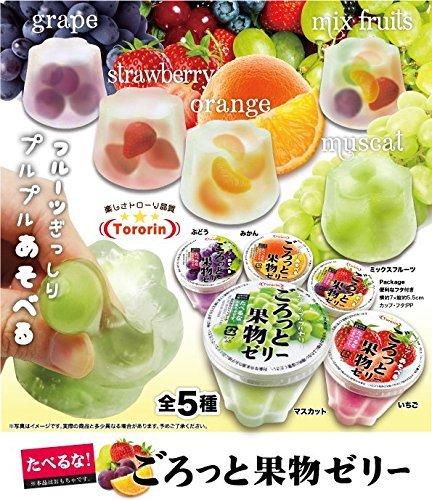 たべるな!ごろっと果物ゼリー(5種セット)...