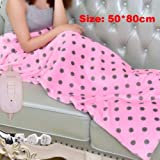 Electric Blankets, Electric Heating pad Warm Heating Blanket Shawl can Move Home Office Warm Winter Blanket Bed Heater heater