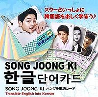 ソン・ジュンギ (SONG JOONG GI) グッズ - 韓国語 単語 カード セット (Korean Word Card) [63ピース] 7cm x 8cm SIZE