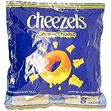 Twisties Cheezels Original Snack, 15g (Pack of 8)