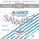 Savarez 540J Alliance Classical Guitar Strings, High Tension, Blue Card